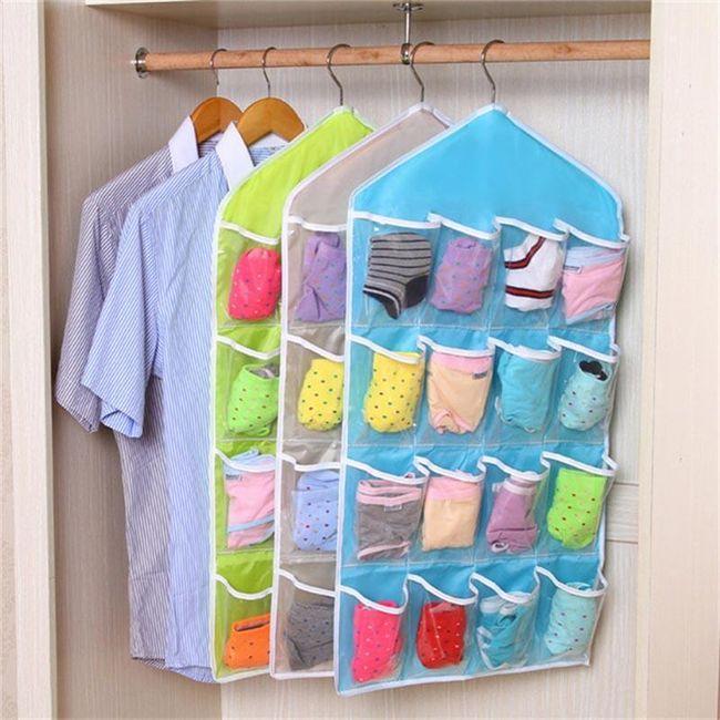 Organizér do skříně - 3 barvy 1