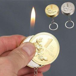Upaljač-privezak u obliku kovanica