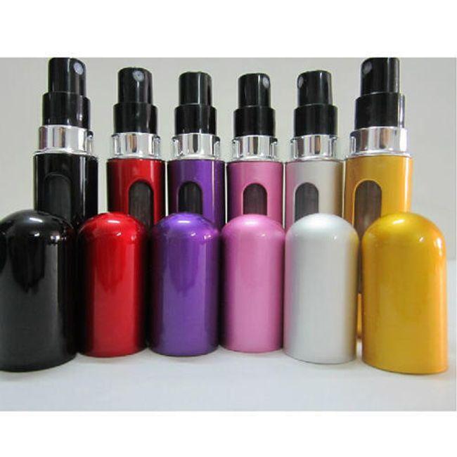 Mini bočica za popularni parfem od 5 ml - 6 boja 1