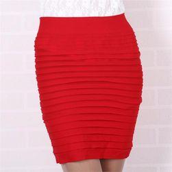 Trikosukně v mnoha barvách - Červená