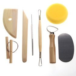 Sada 8 nástrojů na keramiku