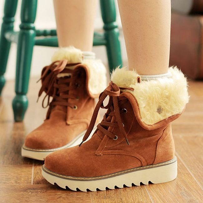 Ženske zimske cipele - 4 boje 1