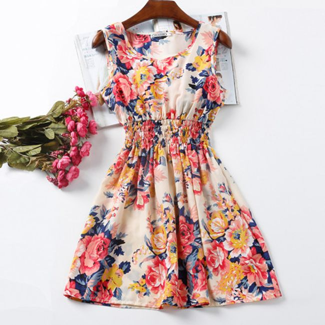 Rozmanité letní šaty - Vzor: 1 - Velikost: 5 1