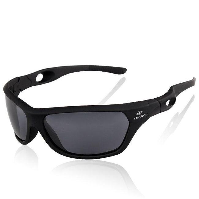 Pánské polarizované sluneční brýle v matném provedení 1