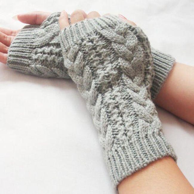 Pletené návleky na ruce - ve 3 barvách 1