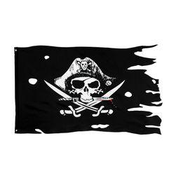 Пиратский флаг PL65