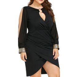 Damska plus size sukienka TF9037