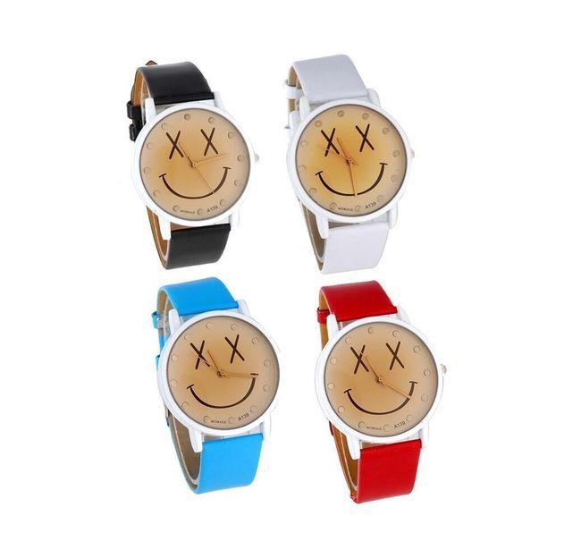Dětské hodinky se smajlíkem ve 4 barvách 1