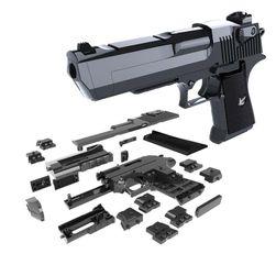 Montaj oyuncak tabanca
