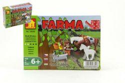 Stavebnica Dromader Farma 28302 89ks v krabici 18,5x13x4,5cm RM_23228302