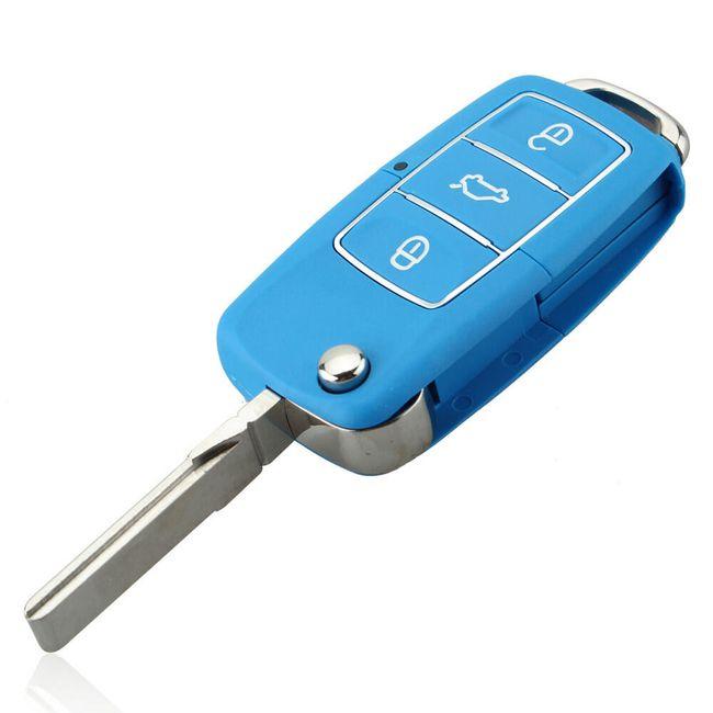 Autós Kulcsház - háromgombos 1