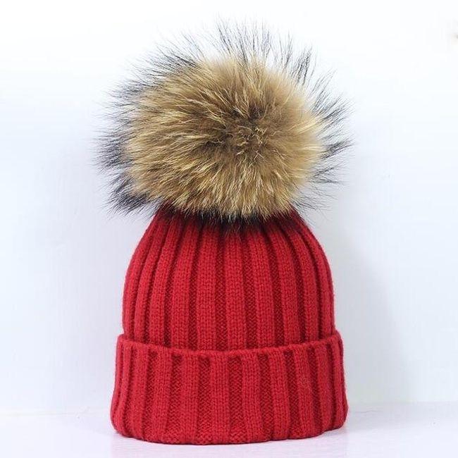 Dámská zimní čepice - 13 variant 1