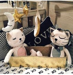 Poduszka - kot, lew