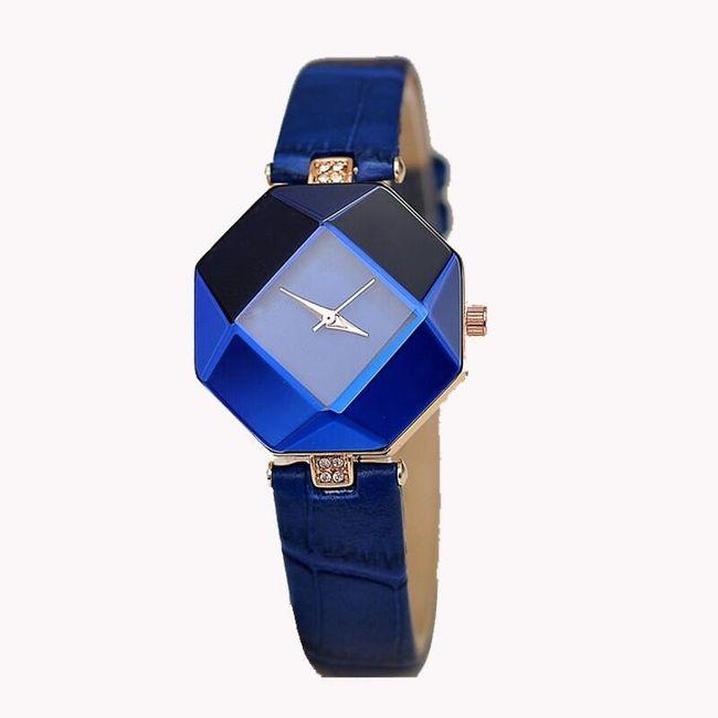 Ženski sat sa uglastim brojčanikom - 5 boja 1