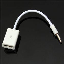 AUX audio kabel 3,5 mm - ženski USB