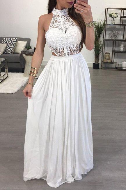 Haljina za bal sa čipkastim vrhom - 2 boje 1