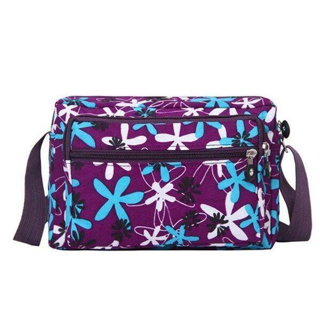 Женская сумка с цветочным рисунком 1
