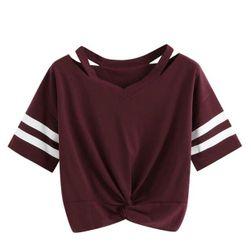 Женская футболка с короткими рукавами Kamila