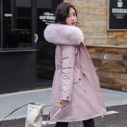 Dámská bunda s kožíškem Belle