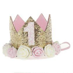 Születésnapi korona kis hercegnőknek - különböző változatok