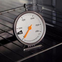 Lógó konyhai hőmérő a sütőben