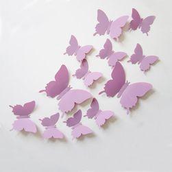 Dekorativni 3D leptir na zidu - 12 komada
