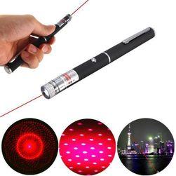 Червена лазерна показалка във формата на писалка - 650 nm