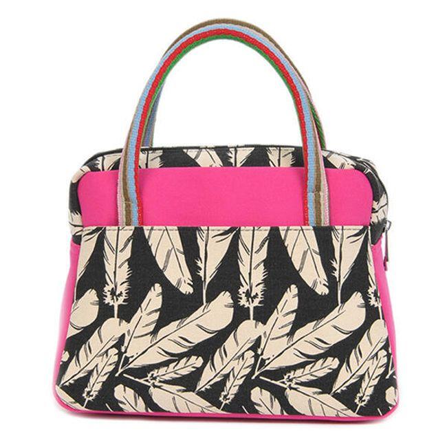 Женская сумка в узорах - 3 цвета 1