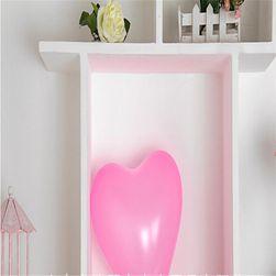 Balon w kształcie serca - różowy kolor