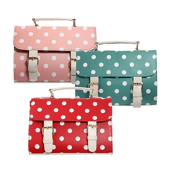 Puntíkovaná kabelka Zanzea® - ve 3 barvách 1