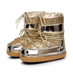 Damskie buty zimowe Ollies