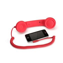 Căști retro pt. telefonul mobil - 7 culori