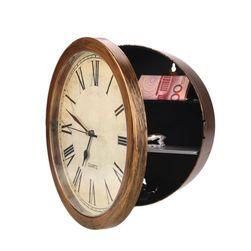 Настенные часы с сейфом HT