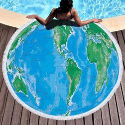 Brisača za na plažo Earth