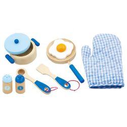 Drewniane naczynia dla dzieci - śniadanie RW_32747