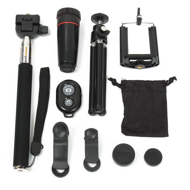Tartozékok készlet fényképezéshez mobiltelefon segítségével 1