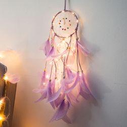 Svítící lapač snů