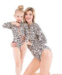 Jednodelni kupaći kostim za majku i ćerku Helga