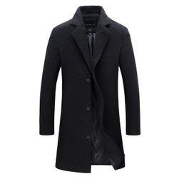 Muški kaput Emmett Crna - veličina 3