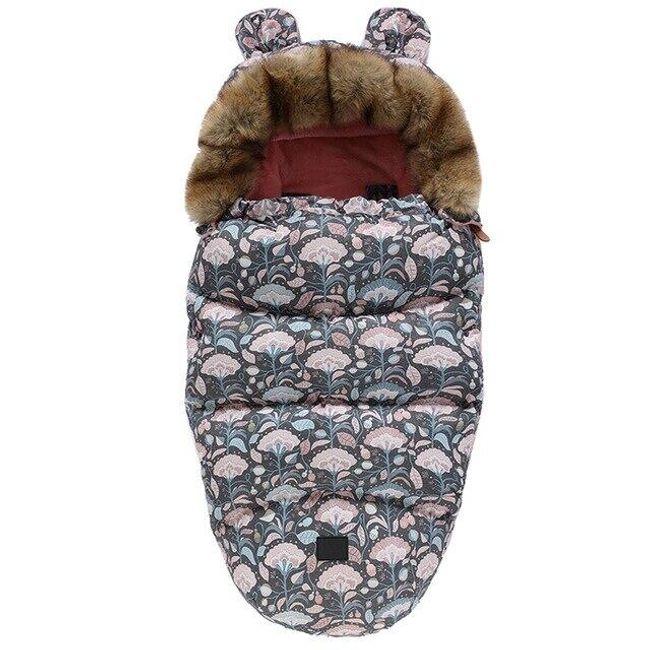 Zimowa kurtka polarowa BU5 1