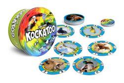 Kockatoo karetní společenská hra v plechové krabičce 12x12cm 5+ STRAGOO RM_26006300