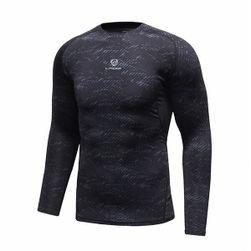 Pánské fitness tričko s dlouhým rukávem