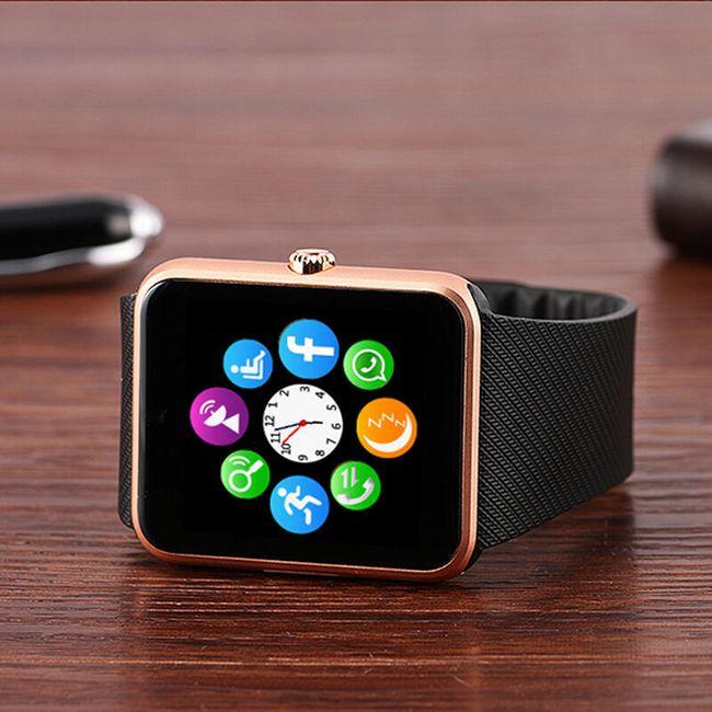 Pametni bluetooth sat za Android pametne telefone i IOS sa kamerom - 3 varijante 1