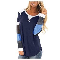 Ženska majica z dolgimi rokavi DT478