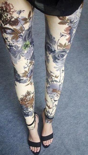 Női mintás nadrág - 18 változat
