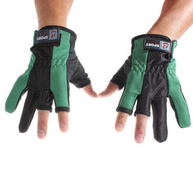 Praktyczne rękawice wędkarskie 1