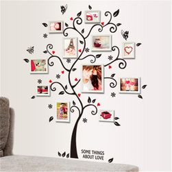 Samolepka na zeď ve tvaru stromu
