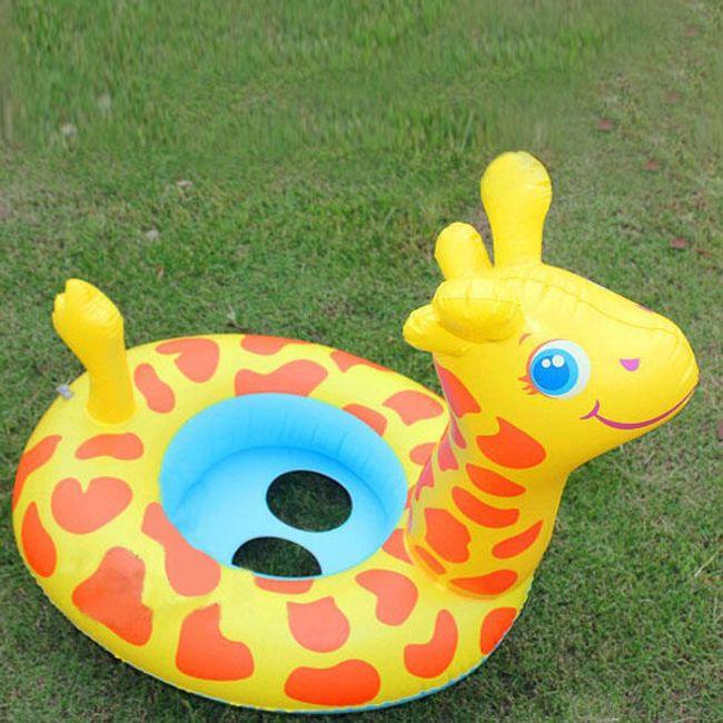 Prsten na naduvavanje za decu u obliku žirafe 1