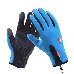 Unisex zimní protiskluzové rukavice