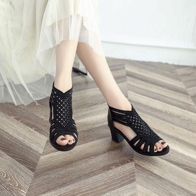 Bayan topuklu ayakkabı DL02 1